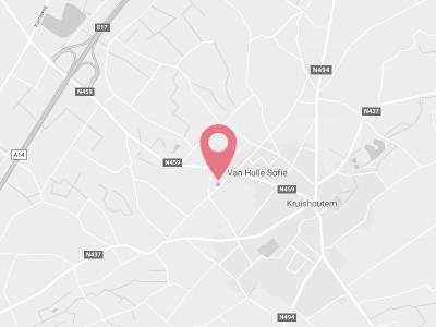 Kaart op Google maps